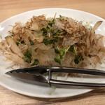 餃子食堂 マルケン - 梅オニオンサラダ