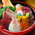 浜誉 - 料理写真:海鮮ちらし