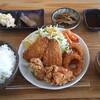 キッチン チカライト - 料理写真:ミックスフライ定食。