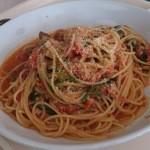 レストランかぐら - 本日のパスタ トマト味