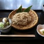 苔清庵 - 丸抜きそば(土日限定)