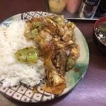 えぞ松 - 回鍋肉定食(720円)