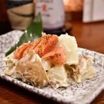 あじひろ - 炙り明太子のポテトサラダ@430円