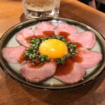 牛タンいろ葉 - *牛タンユッケ(¥899)