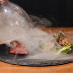 ダイニング&テラス 86 - 真鴨の燻製スモーク