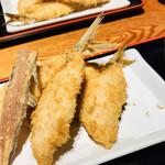 127289748 - 京ばし松輪のアジフライ定食/ライス/お味噌汁/大根おろし/小鉢/お漬物付き