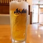 街かど屋 - 生ビール ¥380