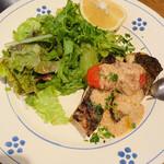 127295502 - 高知県産鮮魚の炭火焼き トラーパニ風
