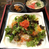 ゆいまーる 美ら島 - 料理写真:タコライスと沖縄そばセット