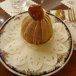 Raunjikinkei - モンブランにしました♡ケーキセット¥1450