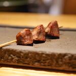 焼鳥 市松 - 砂ずり(砂肝)