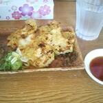 めんきち - 料理写真:焼きワンタンと特製だれ