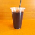甘味茶屋 小梅 - ドリンク写真:原材料は「コーヒー」のみ。珈琲本来のコクのあるしっかりした風味が味わえます。