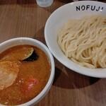 らーめん つけ麺 ノフジ - 料理写真:コク味噌カレーつけ麺╱中盛・冷