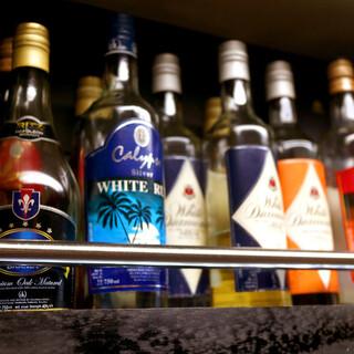 珍しいスリランカのアテ&お酒で乾杯