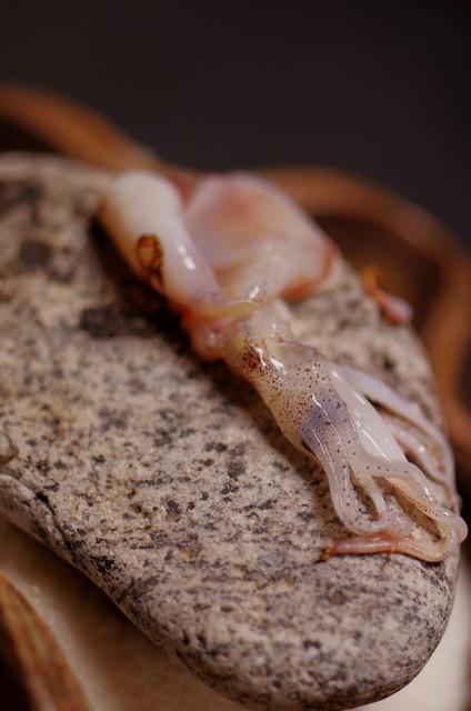 日本料理 山崎 - 螢烏賊(ほたるいか)