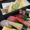 Sawasushi - 料理写真:鮨と天婦羅