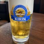 牛たん焼き 仙台 辺見 - ドリンク写真:生ビール ジョッキ中