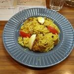 ケララキッチン - 料理写真:チキンビリヤニ1350えん。