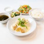 青山シャンウェイ - 海老マヨ定食