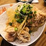 アガリコ 餃子楼 - 唐揚げ 油淋鶏風