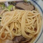 らぁ麺 くろき - 麺アップ
