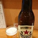 三木半 - 大瓶ビール 650円
