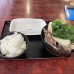 みはま食堂 - 2020年3月13日  骨汁 650円
