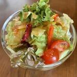 ワインカフェ サルト - 本日のパスタ(\1,200) サラダ
