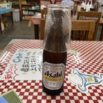 県民ステーキ - 2020年3月13日  瓶ビール(アサヒスーパードライ)450円