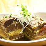 國吉食堂 - 沖縄ハーブラフテー(ウコン、ノニ、クミスクチン、ぬちまーす等の沖縄素材が使用されてます。)