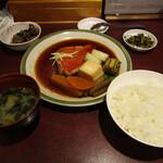 味の正福 - 金目鯛の煮つけ定食