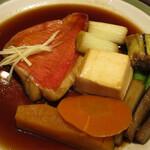 味の正福 - 金目鯛の煮つけ