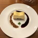 サロン ド テ ジャンナッツ - ギュスターヴエッフェルチーズケーキ¥660