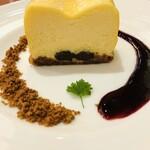 サロン ド テ ジャンナッツ - チーズケーキアップ