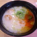 スシロー - ホタテの黒ごま担々麺