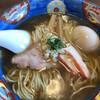 幸雲 - 料理写真:支那そば(塩+醤油のかさね味)