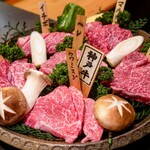 焼肉丸萬 - ☆特選黒毛和牛6点盛 8250円