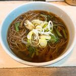 白樺 - 料理写真:特上 山菜そば