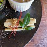 カフェカシータのよこ - 牛蒡の出汁醤油