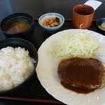 シグナル - 料理写真:ハンバーグランチ