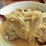 12736994 - 麺(醤油とんこつラーメン)