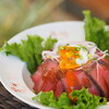 レストラン&カフェ玄武洞 - 料理写真:但馬牛ローストビーフ温玉丼※数量限定
