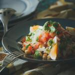 バカリャウとひよこ豆のマリネ