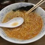 Hokkaidouramenrairaiken - 辛味噌、ニンニクを投入