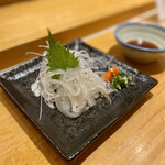すし京辰 - 白魚