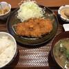 ごはん処 かつ庵 - 料理写真:ロースかつ定食 しじみ汁(+80円)