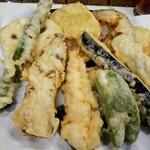 かめや - 天ぷら10品(海老・野菜)