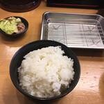 天ぷら さいとう - 次にご飯が来ます