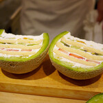 Sushiamami - 丸ごとメロンケーキ